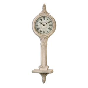 Uttermost Clocks Louisa Antiqued Ivory Wall Clocks