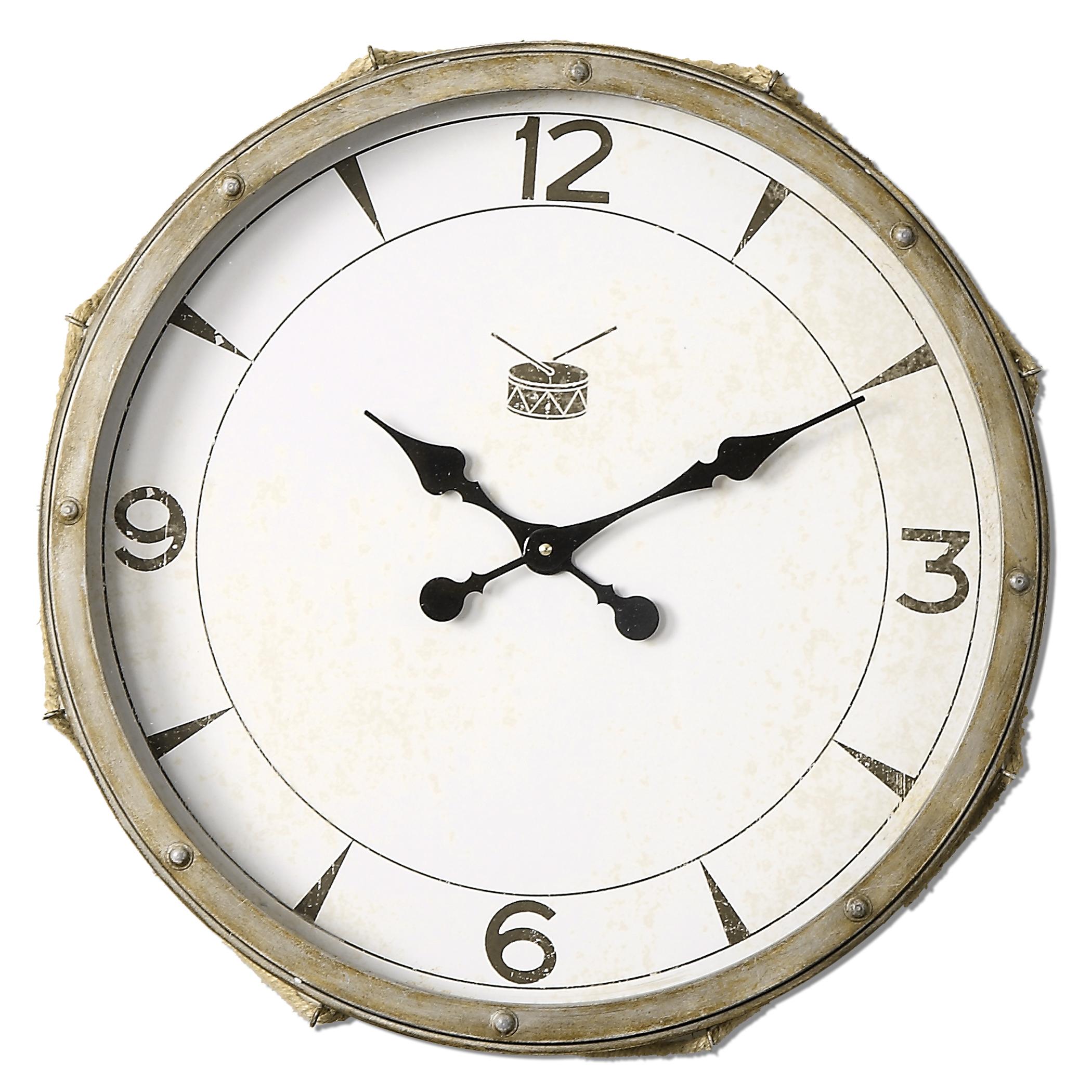 Uttermost Clocks Rope Snare Clock - Item Number: 06429
