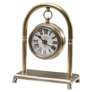 Uttermost Clocks Bahan Brass Table Clock