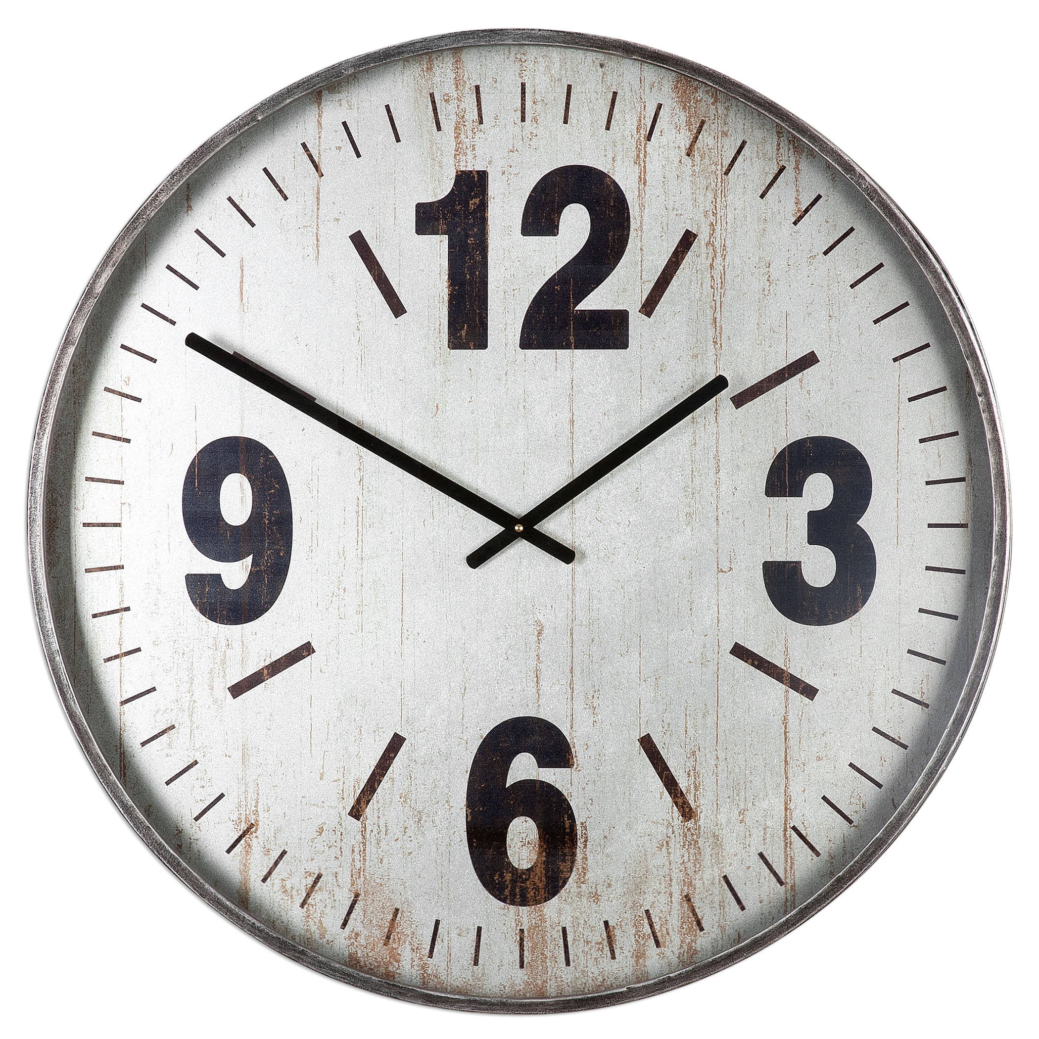 Uttermost Clocks Marino Oversized Wall Clock - Item Number: 06432