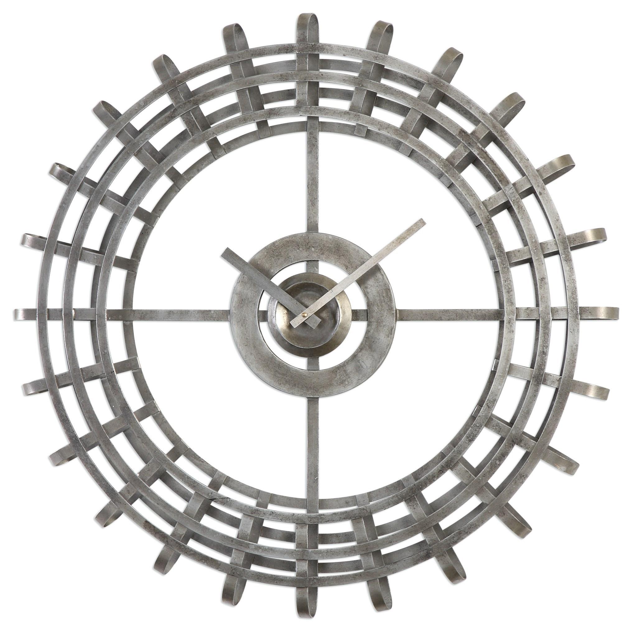 Uttermost Clocks Alphonse Clock - Item Number: 06440