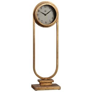 Uttermost Clocks  Alard Gold Table Top Clock