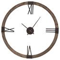 Uttermost Clocks Marcelo Modern Wall Clock - Item Number: 06454