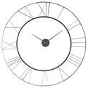 Uttermost Clocks Carroway Art Deco Wall Clock - Item Number: 06458