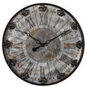 Uttermost Clocks Artemis Antique Wall Clock - Item Number: 06643