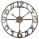 Uttermost Clocks Delevan Clock - Item Number: 06681