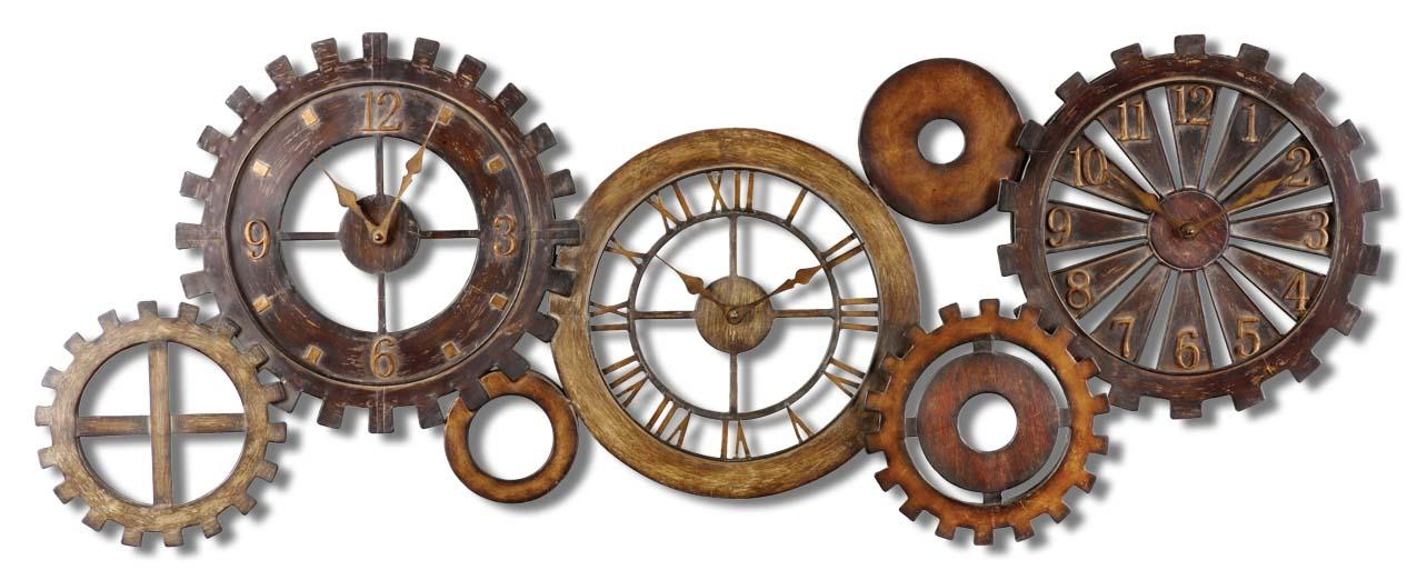Uttermost Clocks Spare Parts Clock - Item Number: 06788