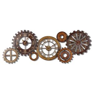 Spare Parts Clock