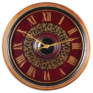 """Uttermost Clocks 24"""" Natara Clock"""