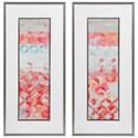 Uttermost Framed Prints Valentine Framed Abstract Prints, S/2 - Item Number: 33707