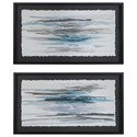 Uttermost Framed Prints Washed Away Contemporary Prints, S/2 - Item Number: 35367