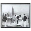 Uttermost Framed Prints Manhattan View Vintage Print - Item Number: 41611