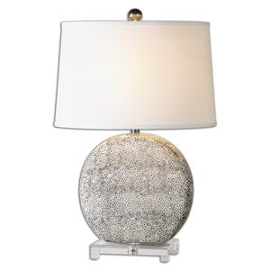 Uttermost Table Lamps Albinus White Lamp