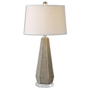 Pontius Taupe Lamp