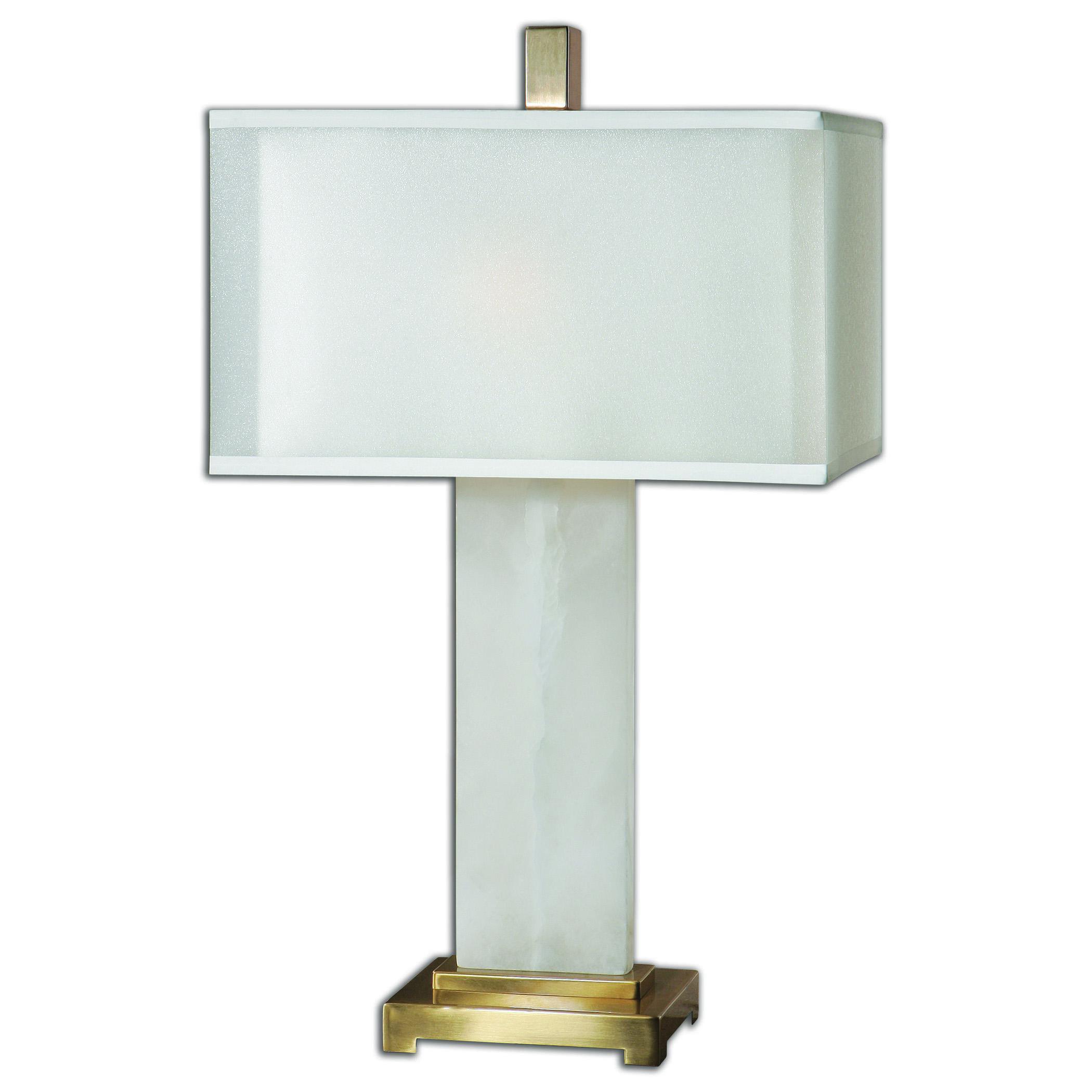 Athanas alabaster Lamp
