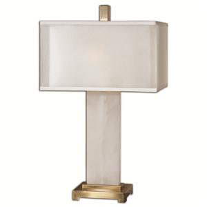 Uttermost Lamps Athanas alabaster Lamp