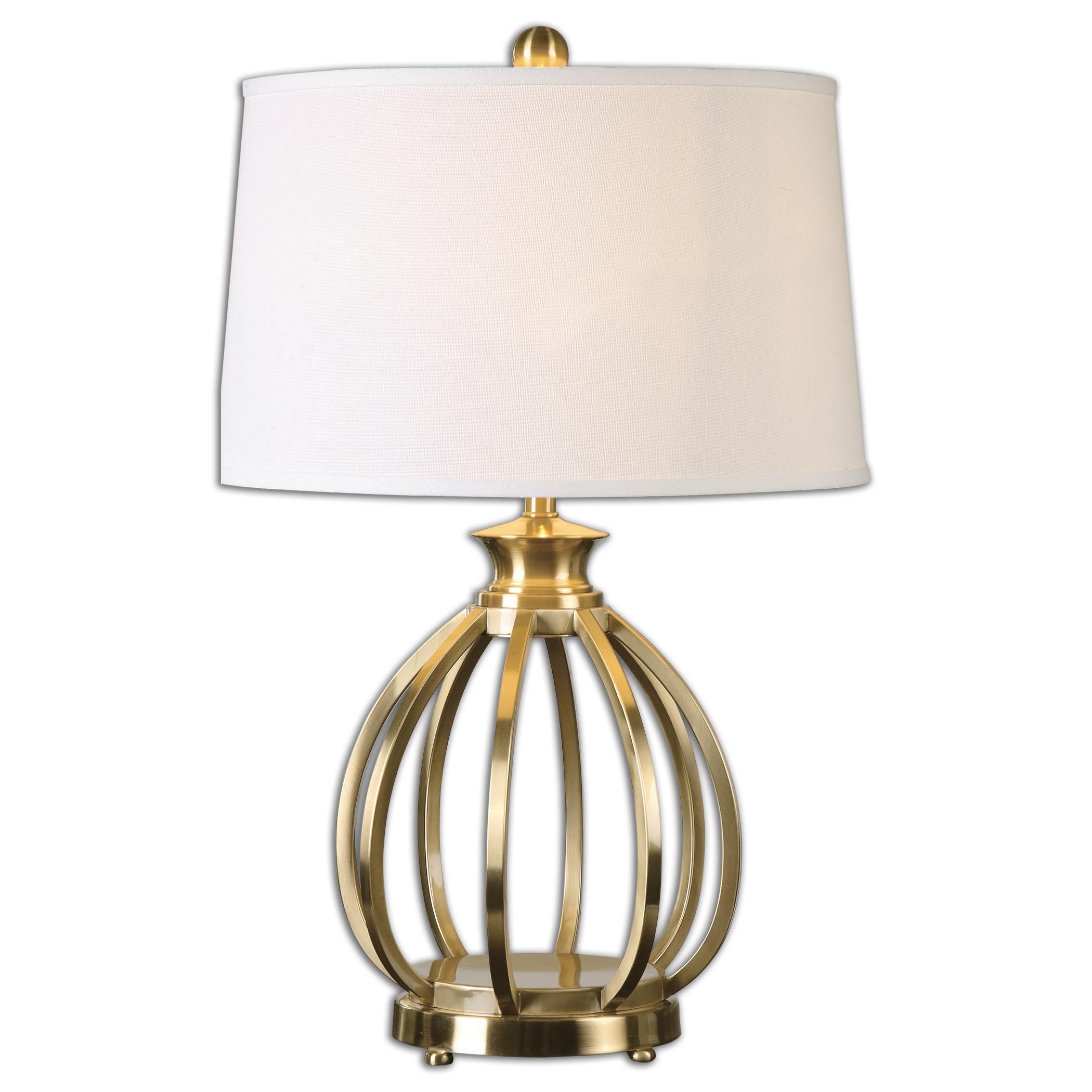 Decimus Brass Lamp