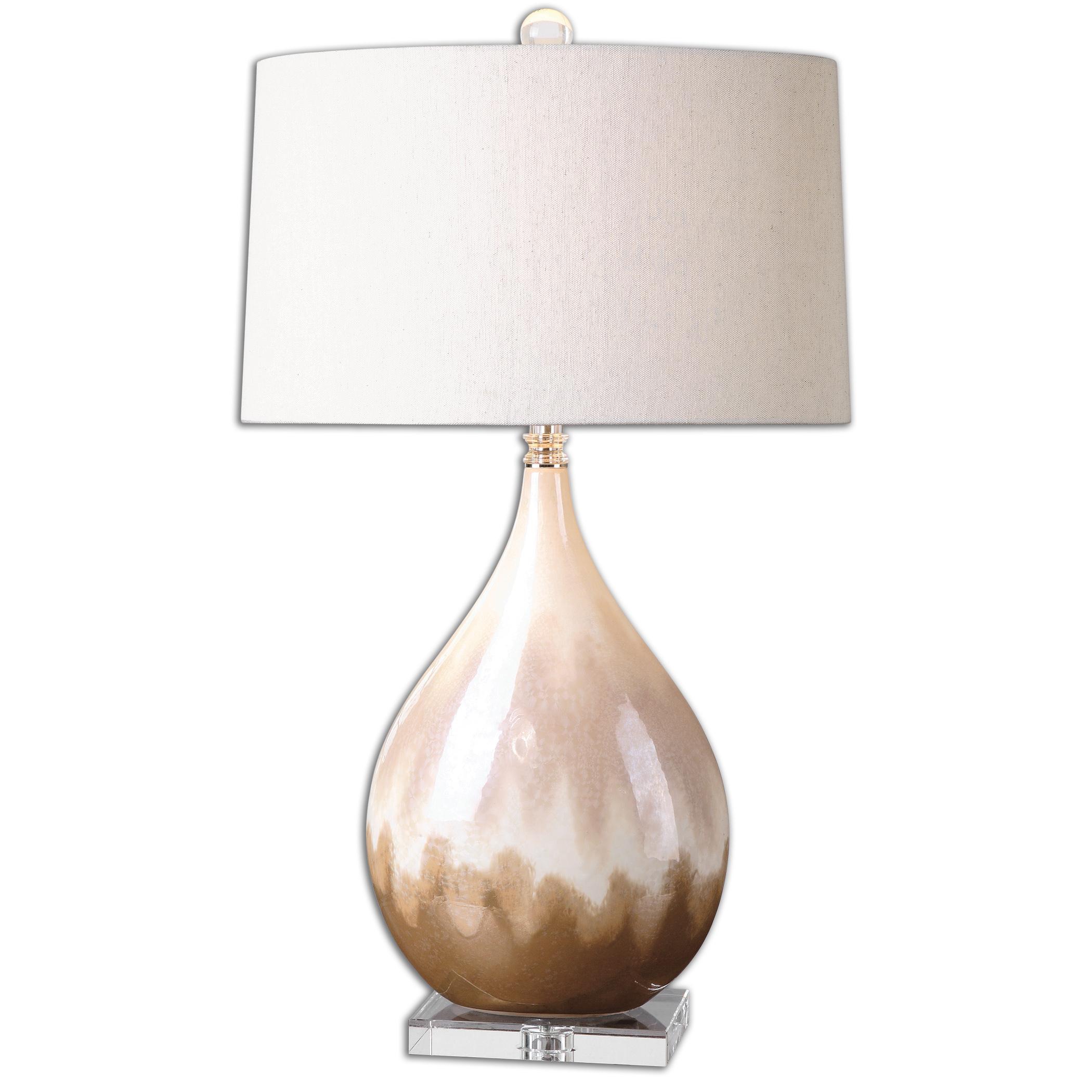 Flavian Glazed Ceramic Lamp