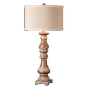 Uttermost Lamps Montoro Dark Pecan Lamp