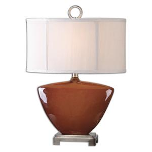 Uttermost Lamps Ceadda Rust Red Lamp