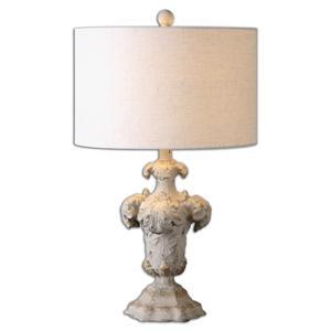 Uttermost Lamps Cassano Antique Ivory Table Lamp