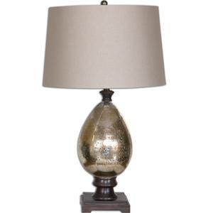 Uttermost Lamps Boulangerie Mercury Glass Lamp