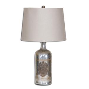 Uttermost Lamps Borel Antique Glass Table Lamp