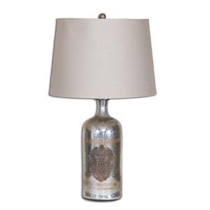 Uttermost Lamps Borel Antique Glass Table Lamp