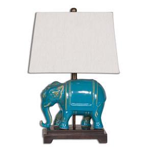 Uttermost Lamps Pradesh Blue Ceramic Table Lamp