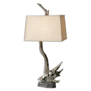 Uttermost Lamps Portland Wood Branch Lamp