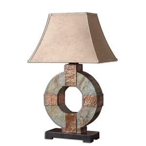 Uttermost Lamps Slate Table