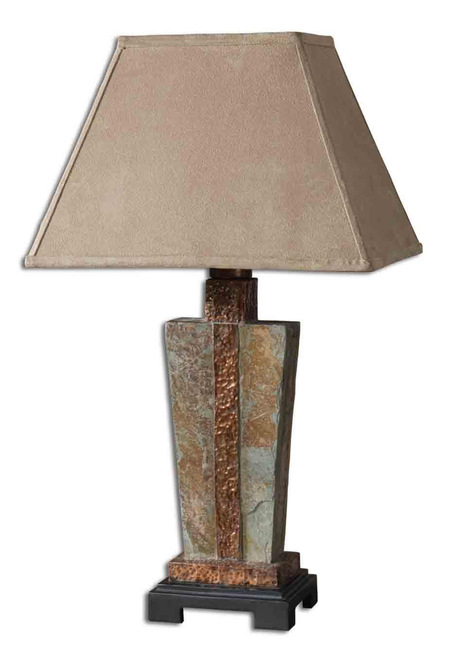 Accent Lamps Slate Accent by Uttermost at Suburban Furniture