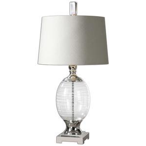 Uttermost Lamps Pateros Swirl Glass Lamp