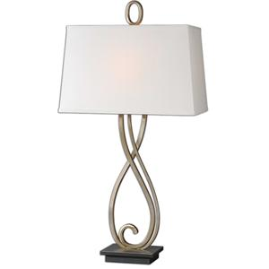 Ferndale Scroll Metal Lamp