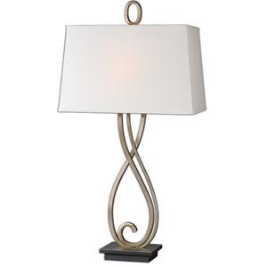 Uttermost Lamps Ferndale Scroll Metal Lamp