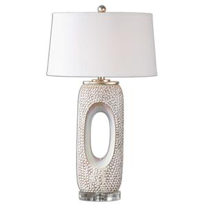 Uttermost Lamps Carbonado Ivory Lamp