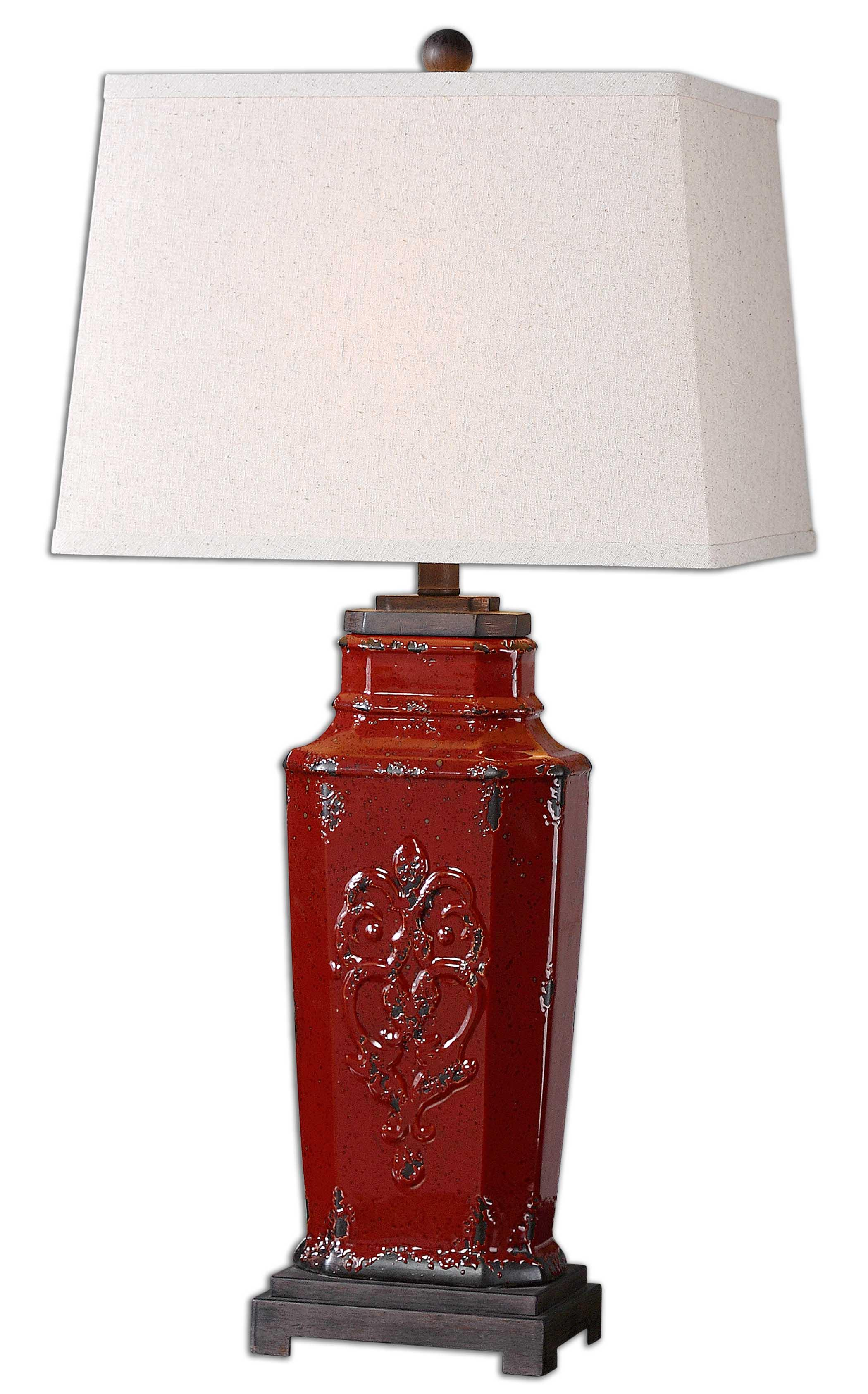 Centralia Red Lamp