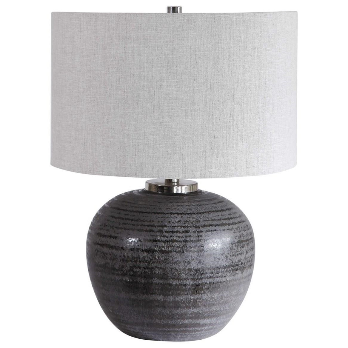 Mikkel Charcoal Table Lamp