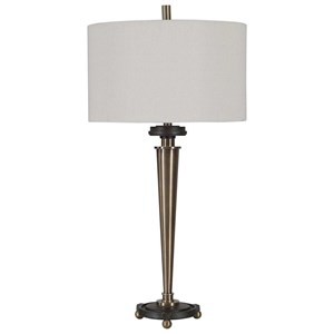 Osten Brass Table Lamp