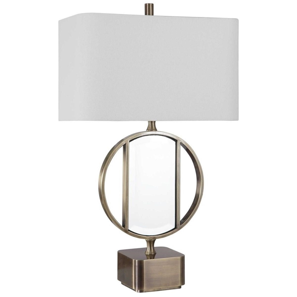 Luciana Brass Table Lamp