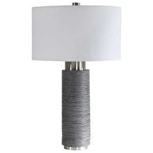 Strathmore Stone Gray Table Lamp