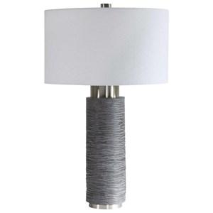 Strathmore Stone Gray Table Lamp