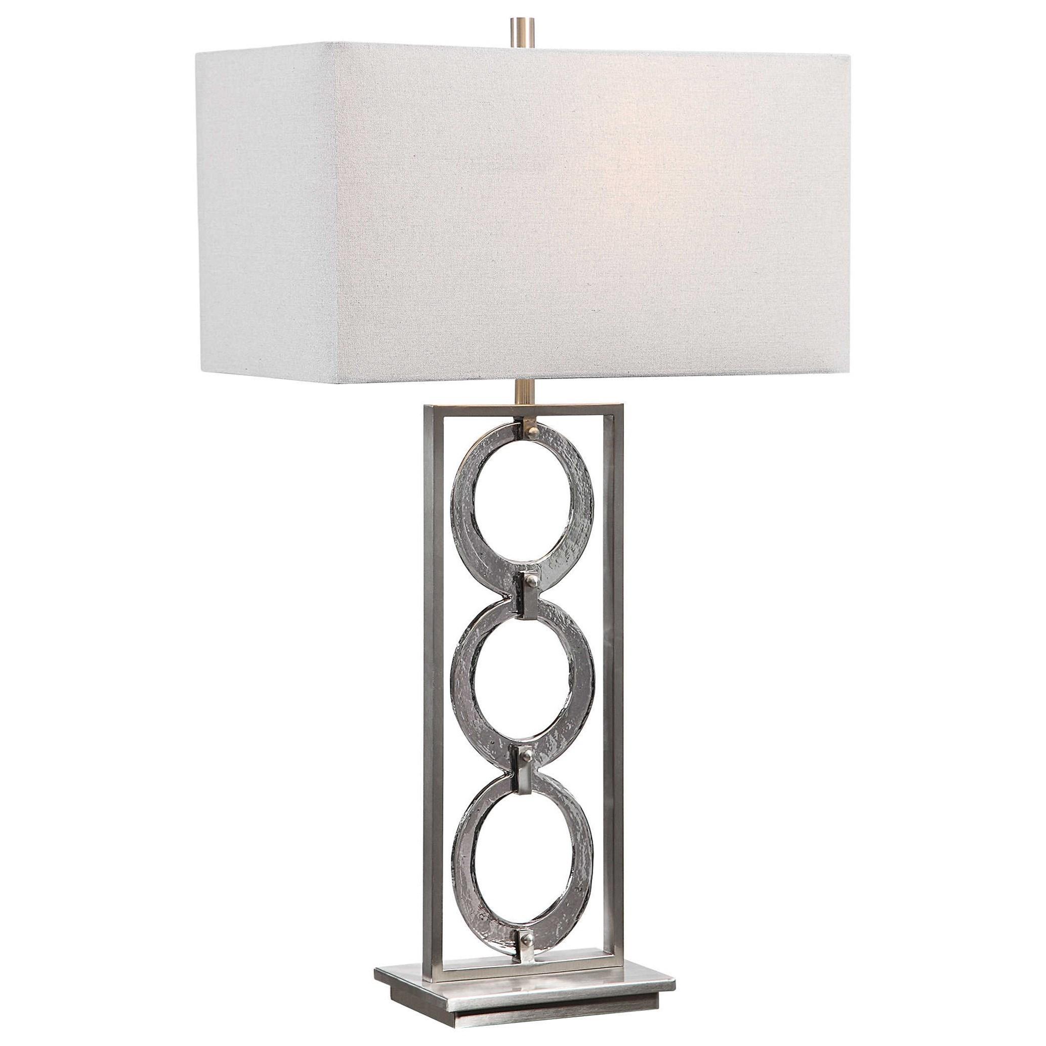 Perrin Nickel Table Lamp