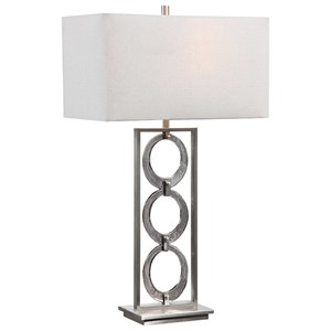 Perrin Nickel Table Lamp