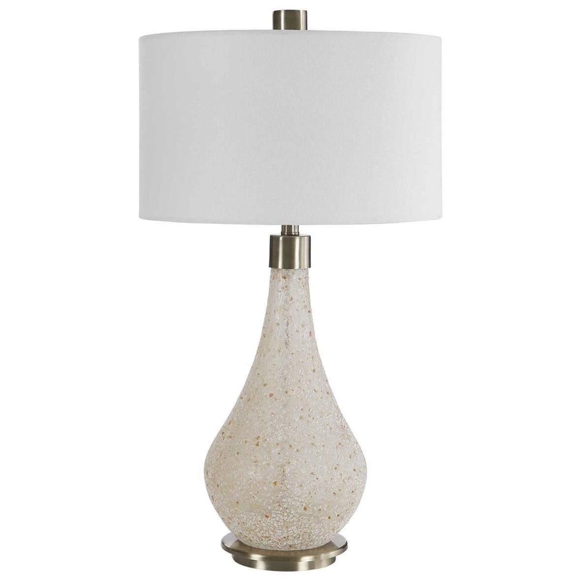 Chaya Textured Cream Table Lamp