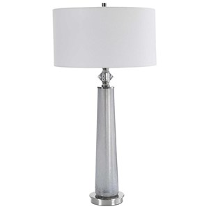 Grayton Frosted Art Table Lamp