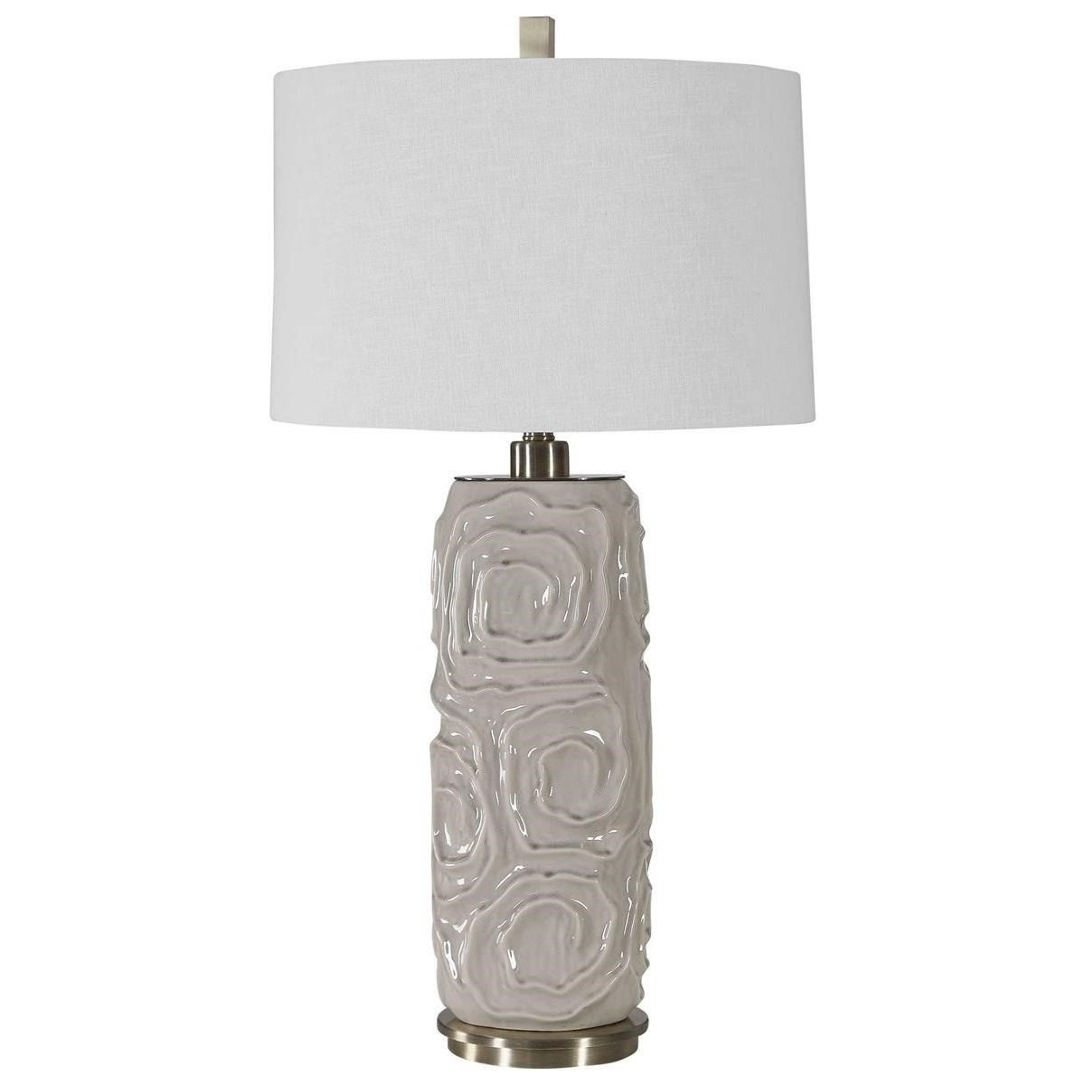 Zade Warm Gray Table Lamp