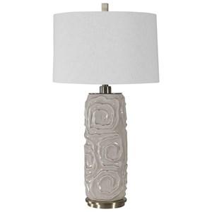 Zade Warm Gray Table Lamp