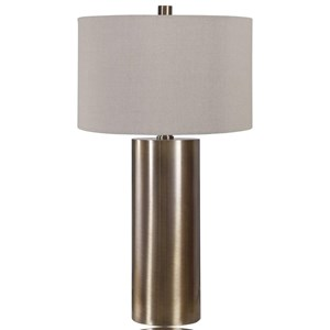 Taria Brushed Brass Table Lamp