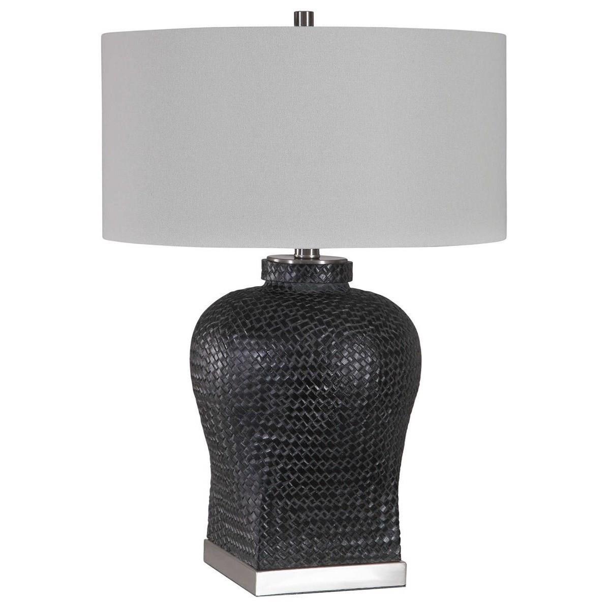 Akello Weave Texture Table Lamp